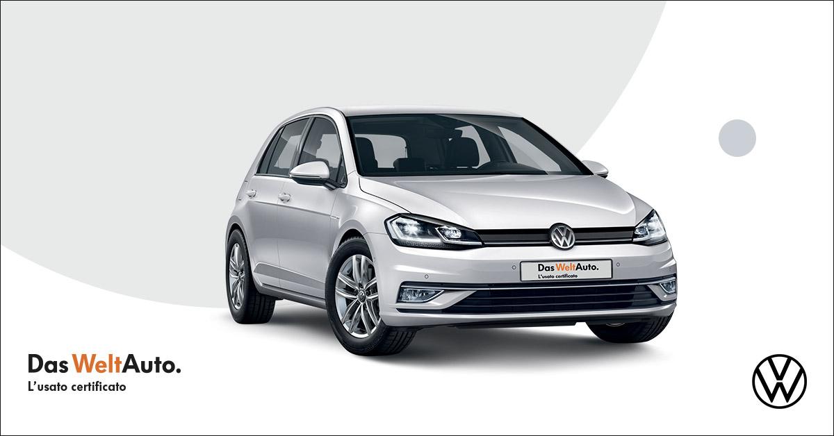 Golf 1.6 TDI Business del 2019 con 27.000 km è tua da 129 euro al mese